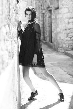 'saw all things' dress Lbd, All Things, Goth, How To Make, Collection, Black, Dresses, Style, Fashion