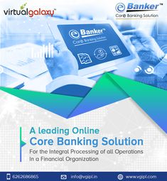 E-banker is the core banking solution that drives innovation and meets consumer's rising expectations for banking services. Most easy to use and uniform solution in Co-operative banking industry. Free Banking, Banking Software, Banking Industry, Banking Services, Financial Organization, Bank Financial, Bank Branch, Risk Management