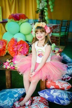 Luau Birthday Girl