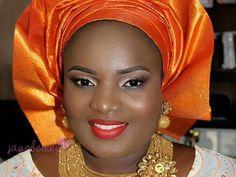Makeup-by-Jagabeauty-Makeup-and-Gele-Studio-Makeover Nigerian Traditional Wear, Nigerian Bride, Make Up Artis, School Makeup, Makes You Beautiful, Just The Way, Makeup Inspiration, Photoshop, Bridal
