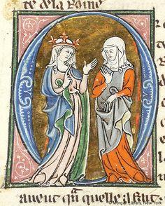 Lancelot du Lac, MS M.805 fol. 68r - Images from Medieval and Renaissance Manuscripts - The Morgan Library & Museum