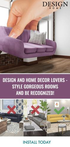 Channel your interior design aspirations and make your dream home ...