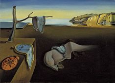 Salvador Dalí's Side Project Illustrating Books—Including the Bible. What You Need to Know about Salvador Dalí Salvador Dali, Dali Clock, Clock Art, Best Painting Ever, Melting Clock, Clock Painting, Most Famous Paintings, Guernica, Poster Prints