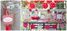 Love polka dot balloons-decorating for 1950's housewife bridal shower - Google Search