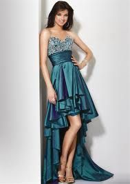 This is the PERFECT party dress. Short in the front, long in the back. Sparkles. Perfection achieved!