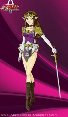 Sailor Princess Zelda - Twilight Princess by Carteraug21 on deviantART