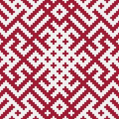 love this red white/ great pattern movement----Carnikavas novads.Gauja http://www.zime.lv/