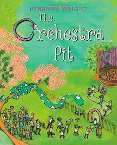 The Orchestra Pit by Johanna Wright http://www.amazon.com/dp/1596437693/ref=cm_sw_r_pi_dp_F8eYtb03FV0VB1F7