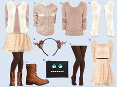 What to Wear: Trick-or-Treating (And later, to the Office!)  See this and more at WWW.MOMMYSTYLIST.COM!