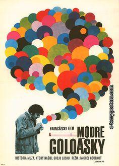 Gauloises Blue (1968) - Czech poster, designed by Václav Zeman