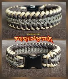 Brown Colored Sanctified Endless Falls - Paracord Bracelet.
