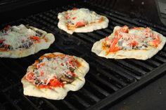 Grilled Flatbread Pizza