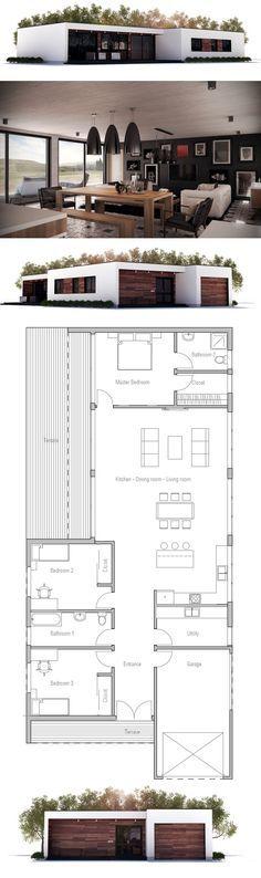 casa pequena e moderna