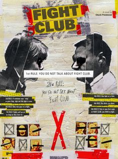 FIGHT CLUB by Marcos Faunner, via Behance