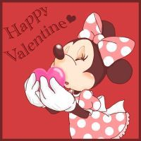 Minnie of Valentine card in 2009 Happy Valentine Valentines Movies, Disney Valentines, Valentine Day Cards, Happy Valentines Day, Mickey Mouse And Friends, Mickey Minnie Mouse, Owl Winnie The Pooh, Minnie Mouse Pictures, Valentines Day Coloring Page