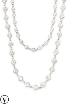 Wear the always eye catching, silver Devon layering necklace from Stella & Dot in multiple ways.  Find fashion necklaces, trendy necklaces, pendants & more.