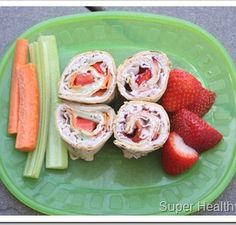 Sweet and Savory Turkey Wraps: Quick Lunch