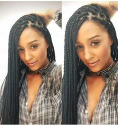 Getting Box Braids for easier hair management! Less time on hair, more time for fun!