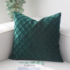 product information Material: soft Velvet Size: Features:designed with a unique Quilting pattern on the velet fabric, Luxury but simple. Washing Method: Cold Water Washed By Hand Package included: 1 piece pillow case ( not included pillow inner) Square Pillow Covers, Sofa Cushion Covers, Throw Pillow Covers, Throw Pillows, Decorative Cushions, Decorative Pillow Covers, 1 Piece, Green And Grey, Quilt Patterns