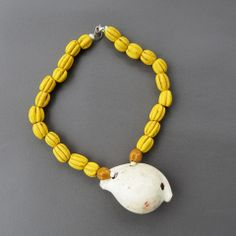 Egg Cowrie and yellow melon beads – The Rare and Beautiful- Asian & Oceanic Antiques, Gems, Minerals,Jewellery