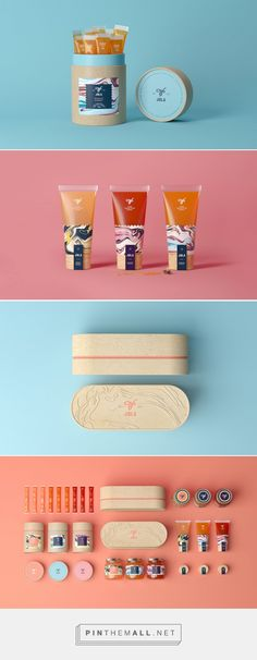 We Love This Mesmerizing Honey Packaging — The Dieline   Packaging & Branding Design & Innovation News... - a grouped images picture - Pin Them All