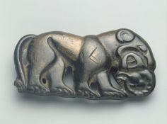 Tiger  Tagar Culture. 5th - 4th century BC  Found: Southern Siberia, Krasnoyarsk Territory, Khakass-Minusinsk Basin, the Village of Askyz.   State Hermitage Museum