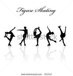 Wall Decal Vinyl Sticker Figure Skating Skater Sport Ice Kwan Custom Name Figure Skating Quotes, Figure Skating Dresses, Ice Skate Drawing, Skate 3, Sports Figures, Skater Girls, Graduation Photos, Ice Skating, Art Lessons