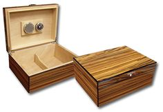 humidor with banding on all the edges