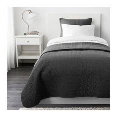ALINA Couvre-lit et housse de coussin IKEA Grande douceur car le couvre-lit et la housse de coussin sont matelassés.