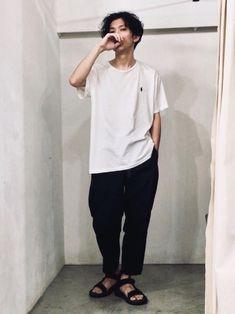POLO RALPH LAURENのTシャツ・カットソー「カスタムフィット コットン Tシャツ」を使ったかずくんのコーディネートです。WEARはモデル・俳優・ショップスタッフなどの着こなしをチェックできるファッションコーディネートサイトです。