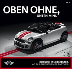 Openair season we are ready..!  The new MINI ROADSTER Campaing from Draftfcb/Lowe Group Switzerland
