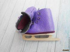 Делаем фигурные коньки для куклы или мишки - Ярмарка Мастеров - ручная работа, handmade
