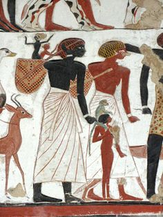 Egyptians were East Africans of many different skin tones. there can be a number of different skin colours in a single civilisation Ancient Egyptian Art, Ancient Aliens, Ancient History, Black History Facts, Art History, Gizeh, Kemet Egypt, Bible Pictures, Ancient Mysteries