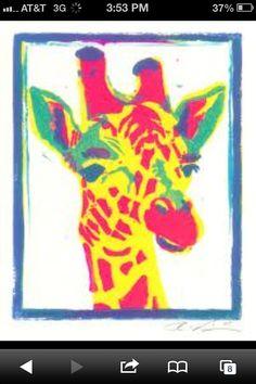 Pop giraffe