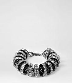Womens Thalia Bracelet (Hematite)   ALLSAINTS.com