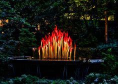 Fiori Boat and Niijima Floats - Chihuly Glass Art, 2016 Fiori Boat and Niijima Floats - Chihuly Glass Art, 2016 Fiori Boat. Atlanta Botanical Garden, Botanical Gardens, Fire Art, Through The Looking Glass, Glass Garden, Natural Beauty, Glass Art, Journey, Neon Signs