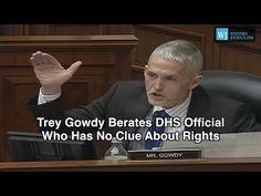 Watch Trey Gowdy DESTROY This Gun Grabbing Idiot in Mere Seconds