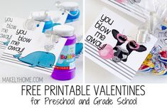 You Blow Me Away   Makely. For 50 more FREE #Valentine Printables, click the image.
