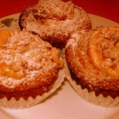 Almás-joghurtos muffin Recept képpel - Mindmegette.hu - Receptek Muffin, Cookies, Breakfast, Food, Crack Crackers, Morning Coffee, Biscuits, Essen, Muffins