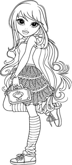 holly ohair coloring pages - photo#17