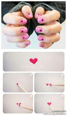 Make heart♥♥
