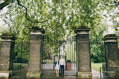 London Hyde Park Engagement Session | Alternative Wedding Photographer | weheartpictures.com