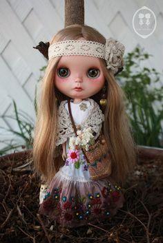 OOAK Custom Blythe Doll for Adoption.   Flickr - Photo Sharing!
