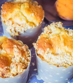 Muffiny z morelami i kruszonką Slow Cooker, Cooking Recipes, Cupcakes, Breakfast, Morning Coffee, Cupcake Cakes, Chef Recipes, Crock Pot, Muffin