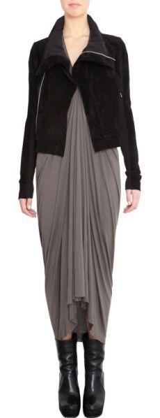 $969 Fabulous VEDA Max Classic Suede Jacket in Black, sz S #Veda #ClassicMax