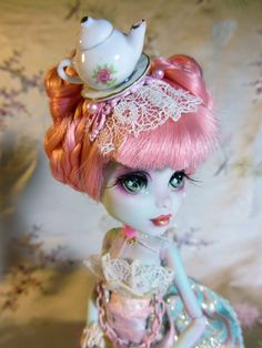 Tandie Teacup  MH doll repaint and hand made by JBWickedPaperDolls