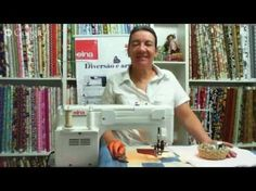 Patchwork Ao Vivo #04: quilting reto e quilting livre - YouTube