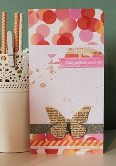 Crafting ideas from Sizzix UK: Thinking of you Card by Karine Starter Kit Butterfly