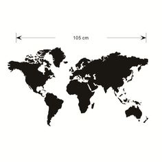 Carte du monde vecteur dimage libre vector images free free hot selling mural art home decor large world map removable wall stickers office in wall gumiabroncs Choice Image