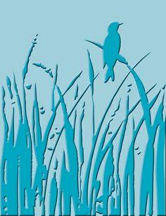 Cuttlebug Embossing Folder - Bird Call,$4.99